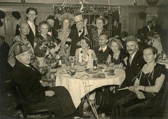 Faschingsfeier 1953