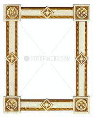 alter goldener Bilderrahmen  um 1900