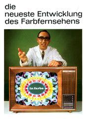 Farbfernsehen  Werbung 1968
