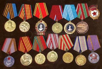 sowjetische Orden  ca. 1945 bis 1985