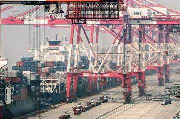 Tiefwasserhafen Shanghai