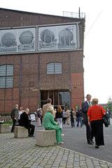 Duisburg  Deutschland  RuhrTriennale  Theatervorstellung im Landschaftspark