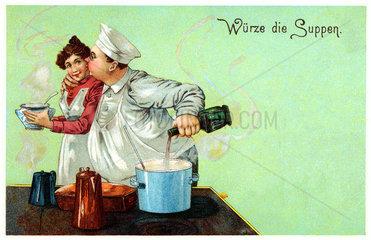 Liebe am Arbeitsplatz  1902