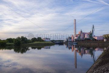GKS Gemeinschaftskraftwerk Schweinfurt - Kohlekraft und Muellverbrennung
