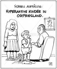 Hyperaktive Kinder in Ostfriesland