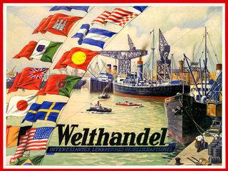 Welthandel  Gesellschaftsspiel  um 1951