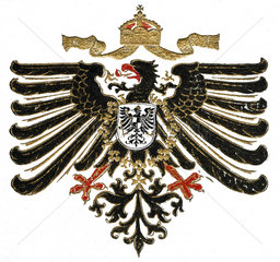 Reichsadler Kaiserreich  1916