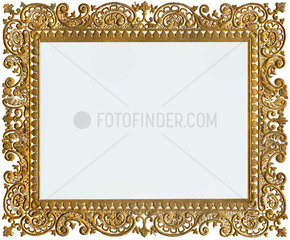 alter goldener Bilderrahmen  um 1880