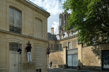 Reims  Frankreich  Kathedrale Notre-Dame von Reims