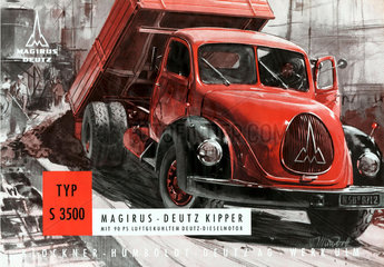 LKW Magirus Deutz  1953