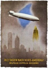 Zeppelin ueber New York  1937