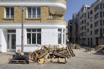 Berlin  Deutschland  Neubau Revaler Spitze