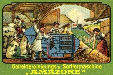 Werbung fuer Landmaschinen  1910