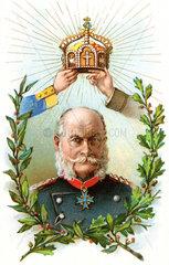 Deutscher Kaiser Wilhelm I  1897
