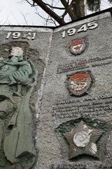 Droegen  Deutschland  Ueberreste einer Kaserne der Sowjetischen Streitkraefte