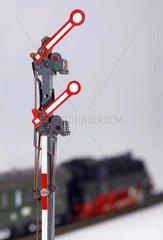 Modelleisenbahn  Signal