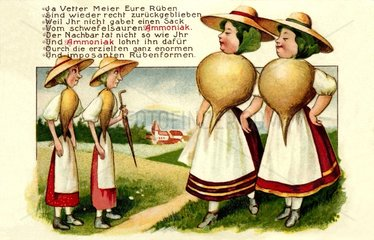 Werbung fuer Ammoniak Duenger 1915