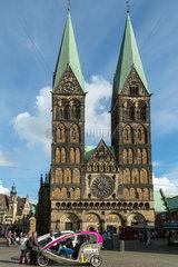Bremen  Deutschland  der Bremer Dom