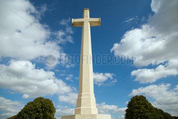 Souchez  Frankreich  Britischer Soldatenfriedhof Cabaret Rouge