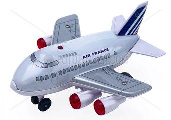 Flugzeug der Air France  Spielzeug