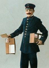 Paketbote 1905