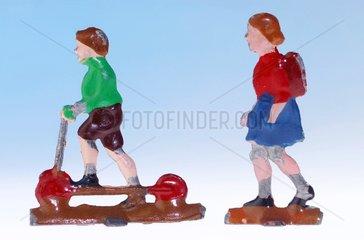 Kinder  50er Jahre