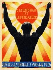 Plakat Reichsgesundheitswoche 1926