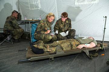 Gardelegen  Deutschland  beweglicher Arzttrupp der Bundeswehr