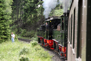 Drei Annen Hohne  Deutschland  die Brockenbahn
