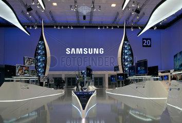 Berlin  Deutschland  Elektronik-Highlights von Samsung auf der IFA 2010