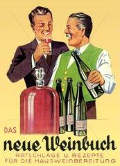 DDR  Wein selbst herstellen  1952