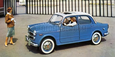 neues Automodell NSU Neckar 58  1958