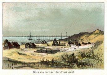 Insel Juist  1888