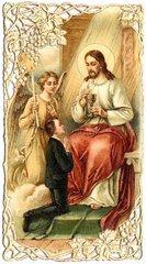Andenken an die Erstkommunion  1909