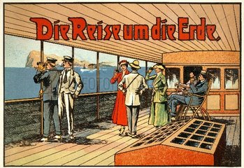 Weltreise  um 1913