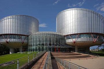 Strassburg  Frankreich  Zugang zum Europaeischen Gerichtshof fuer Menschenrechte