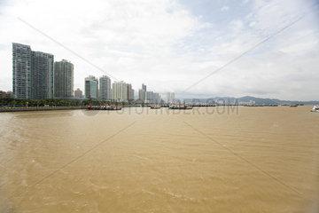 Developed coast  Shandong province  China