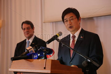CYPRUS-NICOSIA-CHINA-NATIONAL DAY-RECEPTION