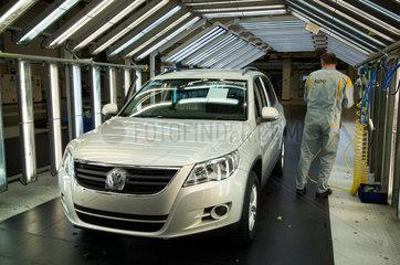 Wolfsburg  Deutschland  der fertige VW Tiguan  produziert bei Auto 5000 GmbH