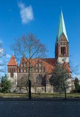 Berlin  Deutschland  die Koptisch-Orthodoxe Kirche am Roedeliusplatz in Berlin-Lichtenberg