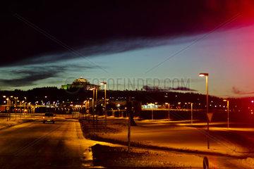 Twilight near Reykjavik  Iceland