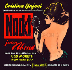 Nackt jeden Abend  Erotikfilm 1961