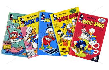 alte Micky-Maus-Hefte  1960 bis 1968