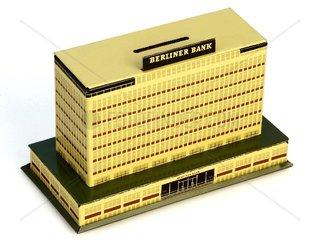 alte Spardose Berliner Bank