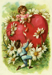Liebesherz  Verliebte  1906