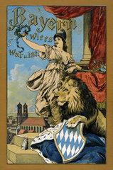 Buchtitel  bayerische Geschichte  1898