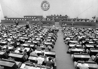 DDR Volkskammersitzung  Mai 1990
