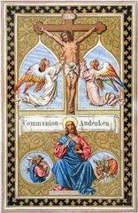 Andenken an die Erstkommunion 1892