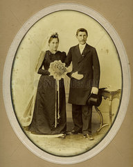 Hochzeitsfoto  um 1890