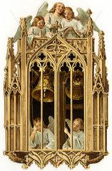 Engel laeuten Glocken  1886